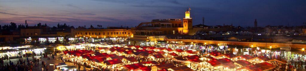 Marokko_Marrakesch_Bazar Djema el Fna